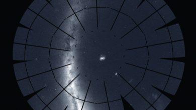 صورة بانوراما السماء الجنوبية Southern sky panorama
