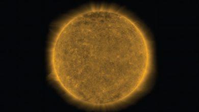 صورة بقعة على الشمس