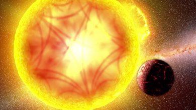 صورة جس نبض نجم مستعصٍ على الرصد