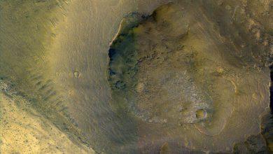 صورة الطين حدد صورة مشهد المريخ