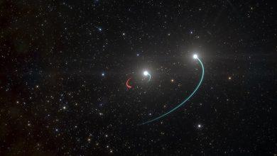 صورة اكتشاف أقرب ثقب أسود نجمي الكتلة