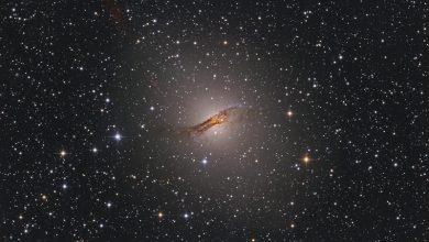 صورة مجرة قنطورس أ Centaurus A