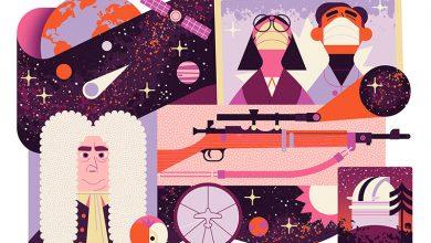 صورة علم الفلك في وقت الأزمات