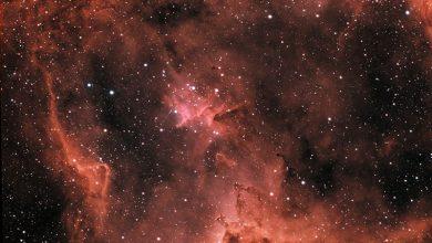 صورة معالجة الصور الفلكية
