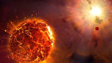 صورة سينتهي نجم منكب الجوزاء بصورة مذهلة عندما ينفجر، بشكل كارثي، في سوبرنوفا